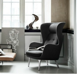 ro chair - black