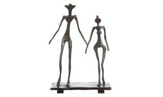 le couple sculpture - diego giacometti