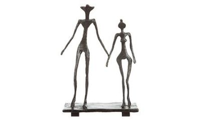 le couple sculpture - diego giacometti