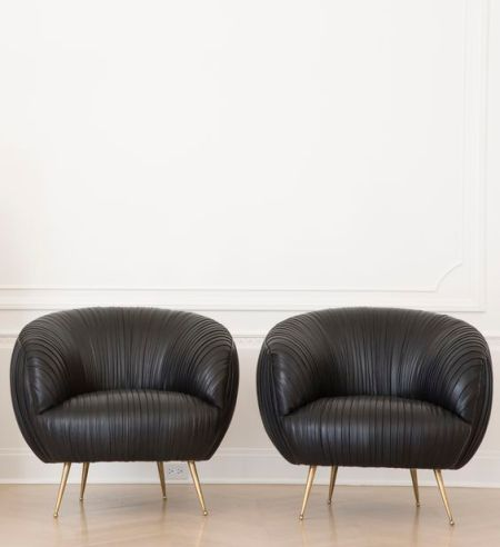 souffle chairs - black