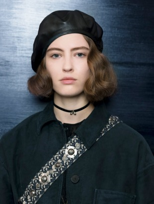 dior beret - two