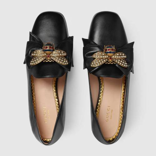 505291_BKO00_1000_003_097_0000_Light-Leather-ballet-flat-with-bow
