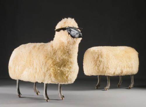 moutons-de-laine-Francois-Xavier-Lalanne-542