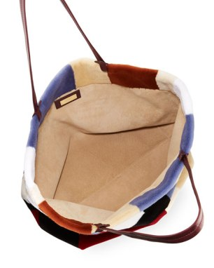 mink tote - two