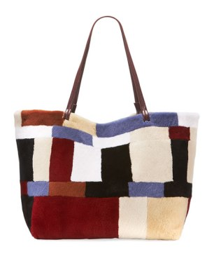 mink tote - one
