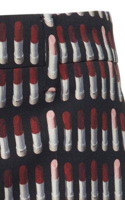 prada lipstick pant - four