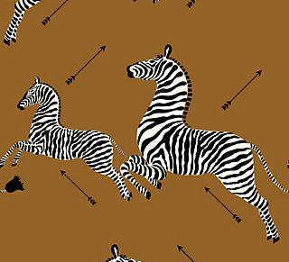 zebra - safari brown
