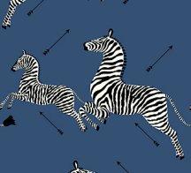 zebra - denim