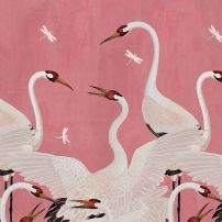 gucci pink heron - one