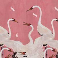 gucci pink heron - one