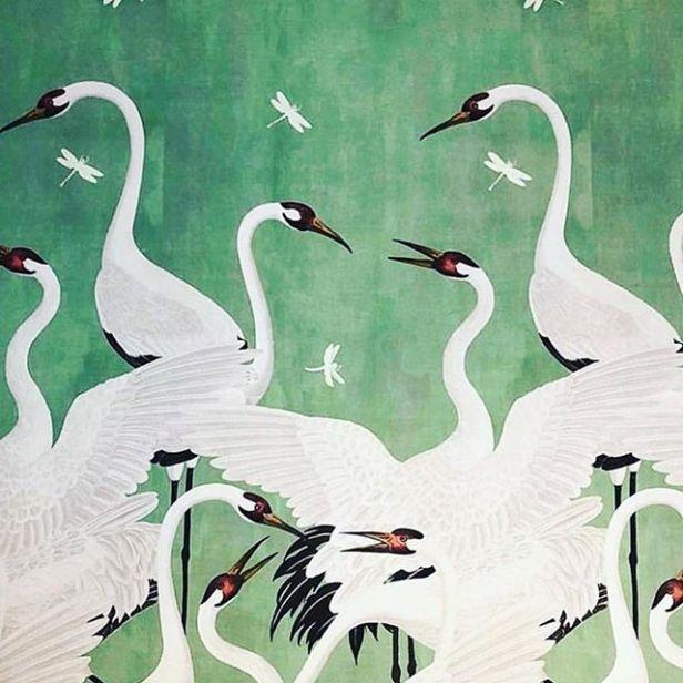 gucci green heron - one