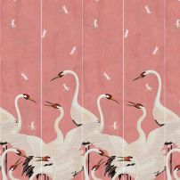 gucci pink heron - two