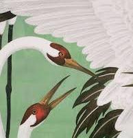 gucci green heron - three