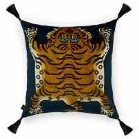saber cushion - navy