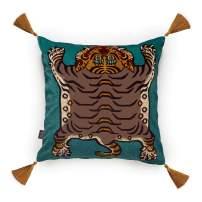 saber cushion - turquiose