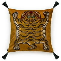 saber cushion - gold